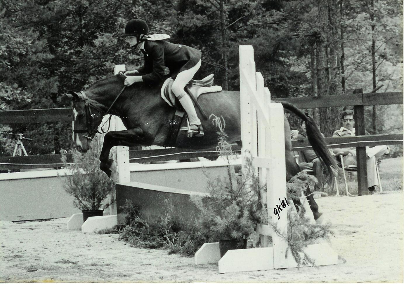 Elfin, aka Corky & April Carter at Fiesta Farm 1980