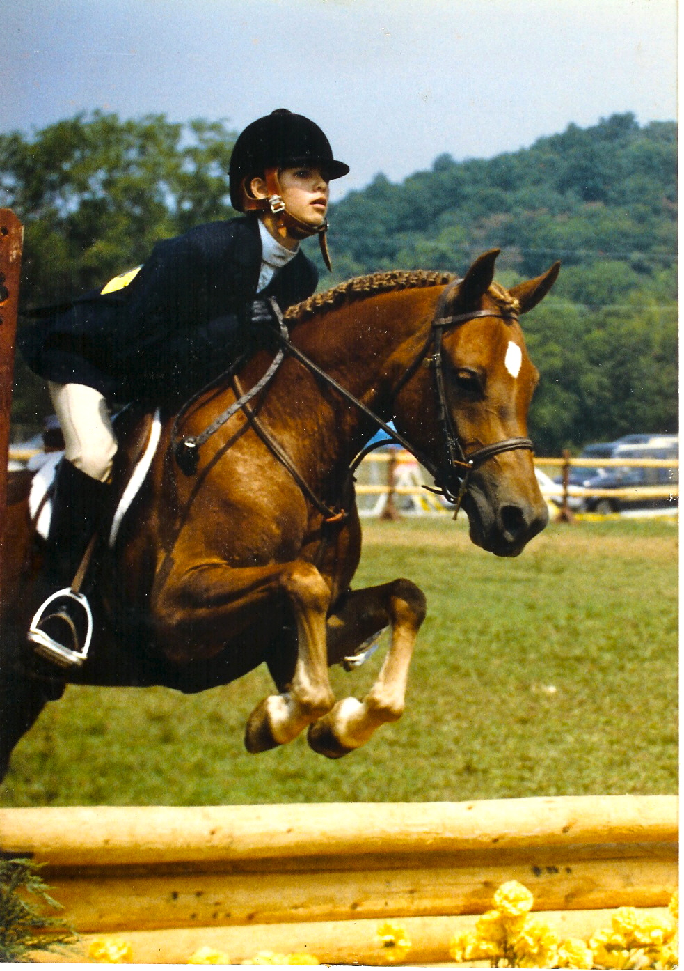 Fiesta Fanfare & Chanda Epple (Pressley) in 1986
