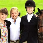 The girls: Pony Finals 2013