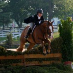 A fun jump, pony finals 2010.