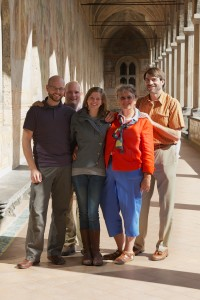 The family: St Chiro, Naples, Italy 2012.
