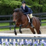 Can Do and C. Adams compete in a ETHJA pony division at Fiesta Farm.
