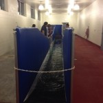 Aqua treadmill for horses