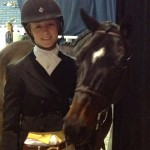 Washington International Horse Show 2013: Montie and Carter.