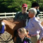 Becky Thornton visits Fiesta Farm for a horse show