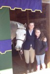 Spring Horse Show scene 2014: Carter, Grace and Coleman.