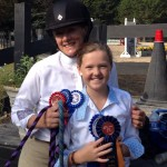 The Lonas Girls: winners at Fiesta Farm 2014.